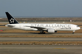 United Airlines | Boeing 777-200ER | N794UA | Star Alliance livery | Shanghai Pudong