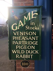 A cut above your local Butcher (unclebobjim) Tags: gamedealer butcher alrewas anomaly sign