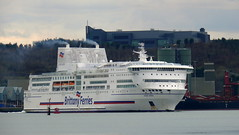 18 03 31 Pont Aven Cork (10) (pghcork) Tags: brittanyferries pontaven ferry ferries carferry corkharbour cork cobh ringaskiddy 2018