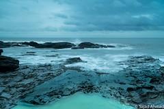 Splash (drsajadahmad) Tags: landscapes nature beautiful ogmorebysea beech unitedkingdom wales bridgend foam seascapes rocks wave turquoise sea water splash