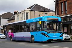67045 SN65OGX First Glasgow (busmanscotland) Tags: 67045 sn65ogx first glasgow sn65 ogx ad adl alexander dennis e20d enviro enviro200 mmc