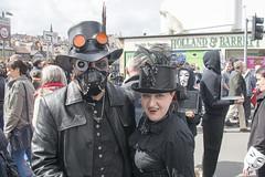 Whitby Goth Weekend, April 2018 (Kingsley_Allison) Tags: whitby whitbygothweekend steampunk bramstoker dracular whitbyabbey northyorkshire nikon nikond7200 sea wgw2018 ships captaincook