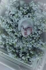 white flowers (dolls of milena) Tags: bjd abjd resin doll supia rosy dreaming flowers floral portrait