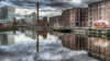 Liverpool Albert Dock (Philip R Jones) Tags: sliders hss sliderssunday water painterly oilpaintingfilter desaturated hdr