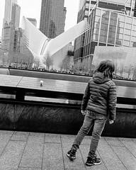 Tuesday in New York_8 (Rick Brandt) Tags: nikkor28mm worldtradecenter trix 911memorial newyork d76 nikonfm2 film oculus unitedstates us