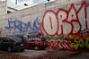 OREKS (geowelch) Tags: toronto kensingtonmarket wallart cars alley laneway urbanfragments fujifilmx100 newtopographics