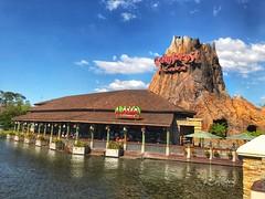 Restaurantes - Disney Springs (RosarioCano de Villarreal) Tags: iphonephoto iphonepic florida rainforestcafe disneysprings orlando disney vacation