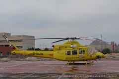 D-HAFH (Martin J. Gallego. Siempre enredando) Tags: helicoptero helicopter emergency emergencyvehicles emergencia emergencias 112 bomberos agrarflughelilift bell 412hp dhafh