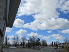 ** Gros nuages blancs ** (Impatience_1) Tags: ciel sky nuage cloud arbre tree rue street m impatience gens people supershot abigfave groupenuagesetciel