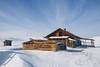 Lake Baikal - Olkhon island (dataichi) Tags: ольхон 貝加爾湖 байкал 바이칼호 baikal russia travel tourism destination siberia winter barn farm wooden abandoned house rustic ruin olkhon snow