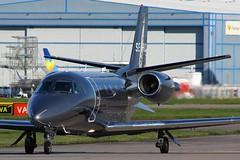 SE-RHD (AnDyMHoLdEn) Tags: cessna citation egcc airport manchester manchesterairport 23l
