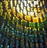 Coventry Cathedral (steve-jack) Tags: hasselblad 501cm 80mm cb lomo colour 100 multiple exposure film 6x6 120 coventry cathedral stained glass window tetenal c41 kit epson v500