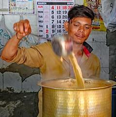 Spice Market (grab a shot) Tags: canon eos 5dmarkiv india maharashtra mumbai 2018 outdoor bazaar market shop spicemarket spices coriander turmeric nutmeg copra coconuts chillies man chai portrait