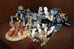 Utapau (Cpt. Ammogeddon) Tags: star wars space moc own custom lego toy play kid movie film science fiction ship vehicle battle camera