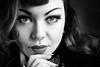 Betty (Lievinshoot) Tags: portrait percing noiretblanc noir et blanc visage