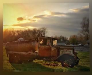 Sunset rust....