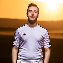 IMG_8653 (sebastienloppin) Tags: tamron 70200f28 canon 6dmarkii godoxad360 ad360 godox portrait sunset flash has technique man homme garçon sun orange sky