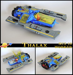 Thalax (spaceruner) Tags: lego space classic spaceship ship classicspace moc