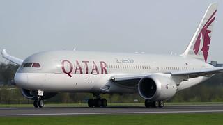 A7-BCS Qatar Airways Boeing 787