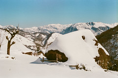 (Román__PG) Tags: nieve montaña tuiza asturias film