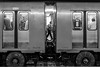 Mexico City Subway (Frederik Trovatten) Tags: metro subway train bnw trains station public transportation blackandwhite fine art composition wheels candid