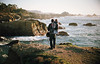 coastal vibes, part one (manyfires) Tags: film analog coast coastal shore shoreline coastline sea ocean pacificocean landscape seascape michael henry toddler boy child son father dad family love sunset golden magichour cliffs tide waves california pointlobos osprey