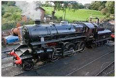 43106 (zweiblumen) Tags: 43106 lms ivatt class4 locomotive steam train 260 severnvalleyrailway picmonkey canoneos50d zweiblumen 1951