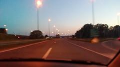 Highway at Sunset (garethtrooper) Tags: road highway sunset