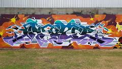 Akuze... (colourourcity) Tags: streetart streetartnow streetartaustralia graffiti melbourne burncity awesome colourourcity nofilters burners letters awesone original akuze akuzer afp
