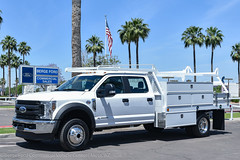 18P093_W4H 6.7L Diesel Scelzi Super Contractor (seanmnaz) Tags: commercialtruck ford fseries servicebody superduty utilitybody worktruck f450 scelzi contractor body for sale flatbed