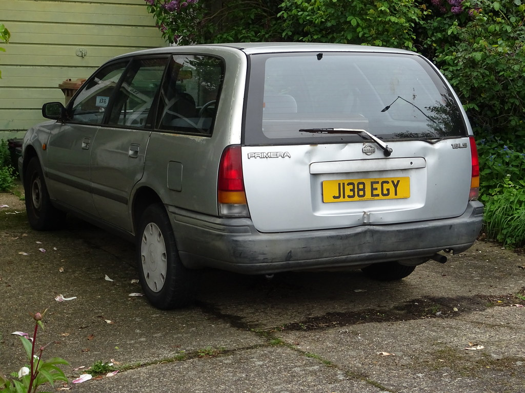 1991 Nissan Primera 16 LS Neils Classics Tags Vehicle 16ls