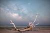 Edisto Milky Way (Robert Loe) Tags: milkyway cosmos space stars beach island sea seascape night photography explored driftwood lowlevellighting lightcrafter lightpainting