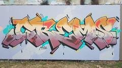 Crem.. (colourourcity) Tags: streetartaustralia streetart streetartnow graffitimelbourne melbourne burncity awesome colourourcity nofilters ihateshadows crem cremeight crem8 cremate mia burner