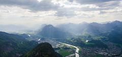 The river Inn in the south of Kufstein (peter-goettlich) Tags: kufstein wilder zahmer kaiser kaiserbachtal tirol österreich