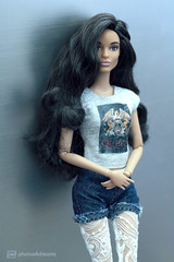 the queen of f***ing everything ;-) (photos4dreams) Tags: barbie mattel doll toy diorama photos4dreams p4d photos4dreamz barbies girl play fashion fashionistas outfit kleider mode puppenstube tabletopphotography aa beauties beautiful girls women ladies damen weiblich female funky afroamerican schnitt hair haare darkskin africanamerican puppe canoneos5dmark3 canoneos5dmarkiii spielzeug collectorsbarbie collector zoe blue dress gown bodice christmasbarbie2016 holidaybarbie2016 ©photos4dreams custom portrait