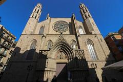 Novembre_0062 (Joanbrebo) Tags: barcelona catalunya españa es santamariadelmar church esglèsia iglesia basilica eglise canoneos80d eosd efs1018mmf4556isstm autofocus arquitectura edificios edificis buildings