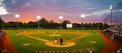 ECU Baseball '18 (R24KBerg Photos) Tags: ecu eastcarolina ecupirates eastcarolinauniversity eastcarolinapirates greenvillenc college collegesports clarkleclairstadium athletics americanathleticconference action aac athletes northcarolina ncaa sports baseball ballpark houstoncougars 2018 panorama panoramic sunset evening sundown dusk nature sky clouds beautiful photomerge samsung galaxys8