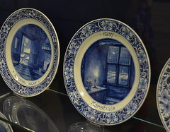window in the plate (Hayashina) Tags: thenetherlands delft plate window