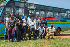 Water towers project of East Africa (CIFOR) Tags: localpeople measurement people transportation bus research scientists kisumucounty kenya ke