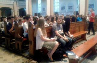 06-08.06.2016 – wieczory ewangelizacyjne dla bierzmowańców w parafii św. Jadwigii w Chorzowie