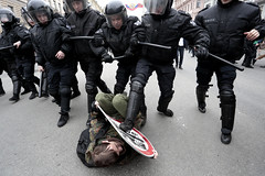 Anti-Corruption rally in Russia (Valya V) Tags: canon police navalny putin spring 5d city detention