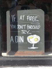 If At First You Don't Succeed Try A Gin Chalkboard Ely May 2018 (symonmreynolds) Tags: ifatfirstyoudontsucceedtryagin chalkboard ely may 2018