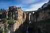"Ronda (""A.S.A."") Tags: ronda andalusia spain espana europe gorge slow shutter longexposure river cloud bridge sonya7rmkii sony2470f28gm leefilters leebigstopper 06softgrad asa2018"