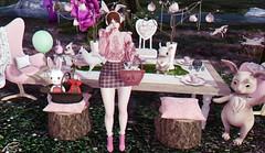 #146 - LOOK RR - Happy Easter friends! <3 (rhavena.rasmuson) Tags: easter maitreya moda bunny catwa cute uber kustom9 ramasalon pink secondlife slfashion sl rabbit pseudo