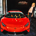 The Glamourous Natalie Rossiter and the Red Lamborghini Huracán