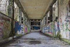 Sanatorium abandonné (Dimitri Darnanville) Tags: urbexsanatoriumhopitalexplorationgraffitimaladetuberculoseurbanprofondeurperspectivebracketingposelongue urban canon 100d hdr explore graff art arts 1855 picture pict decay lost perdu landscape fire architecture architecturale
