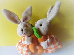 Tschüß Ostern! (Hannelore_B) Tags: ostern easter hase bunny rabbit easterbunny osterhasen