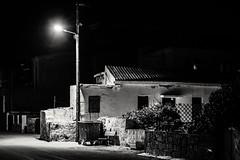 Late night Kalyves (PhredKH) Tags: blackwhite blackandwhite canonphotography fredkh monochrome photosbyphredkh phredkh splendid shadowsandlight road streetlamp streetatnight nightphotography blackandwhitephotography whiteblack 70200mm ef70200mmf28lisiiusm canoneos7dmkii greece greek traveltogreece