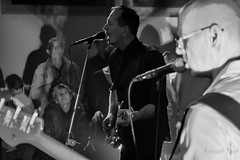 The Bluebirds (laurent.smet) Tags: 20180330 bars concert dordogne thebluebirds noirblanc blackwhite laurentsmetphotographies onstage