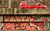 graffiti amsterdam (wojofoto) Tags: amsterdam graffiti streetart nederland netherland holland wojofoto wolfgangjosten hof halloffame flevopark amsterdamsebrug hi5 peutr